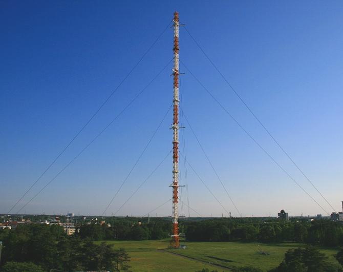 気象観測鉄塔 気象研究所の気象観測鉄塔は、観測施設としてだけでなく筑波研究学園都市の... 気象