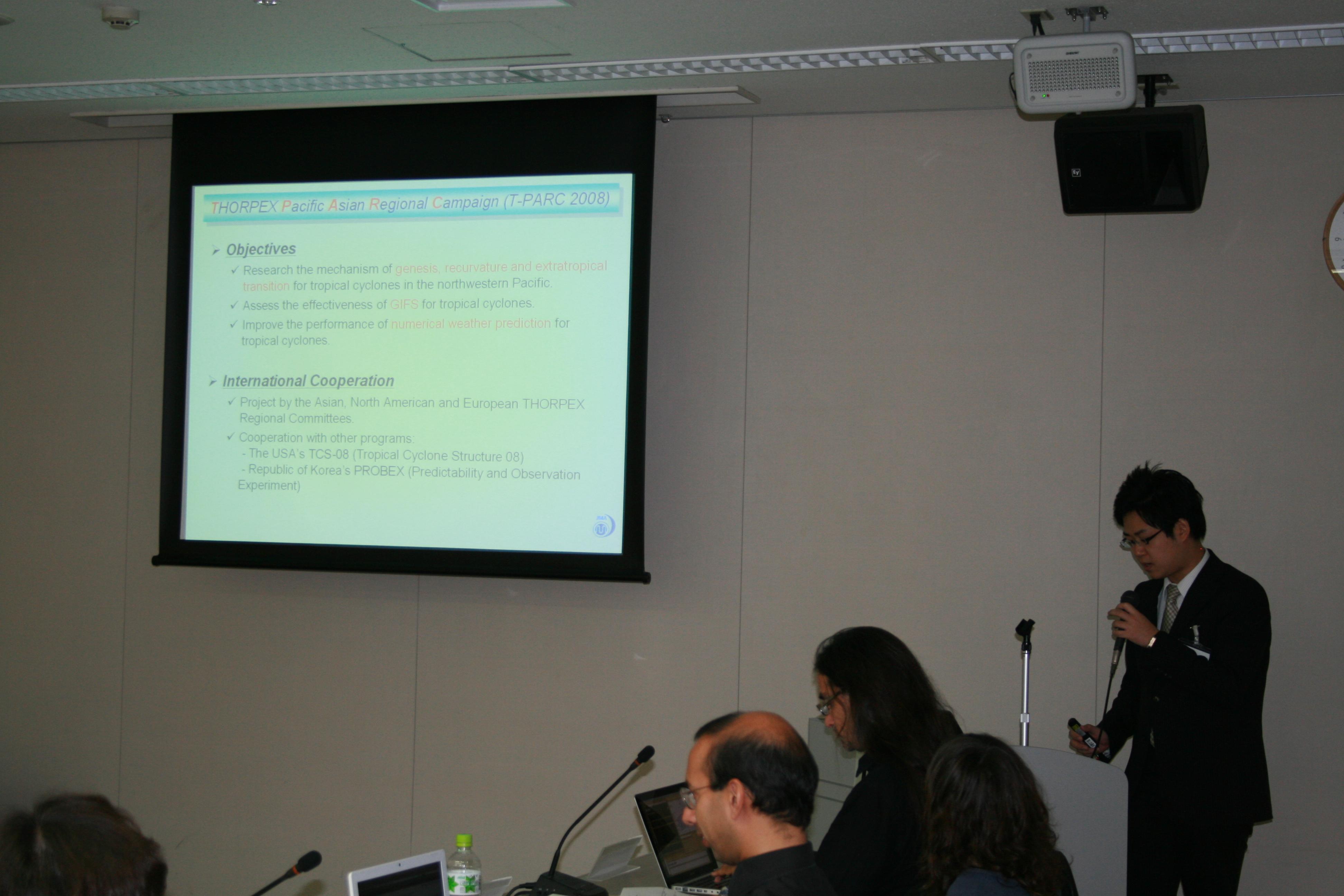 International Workshop on Advancement of Typhoon Track